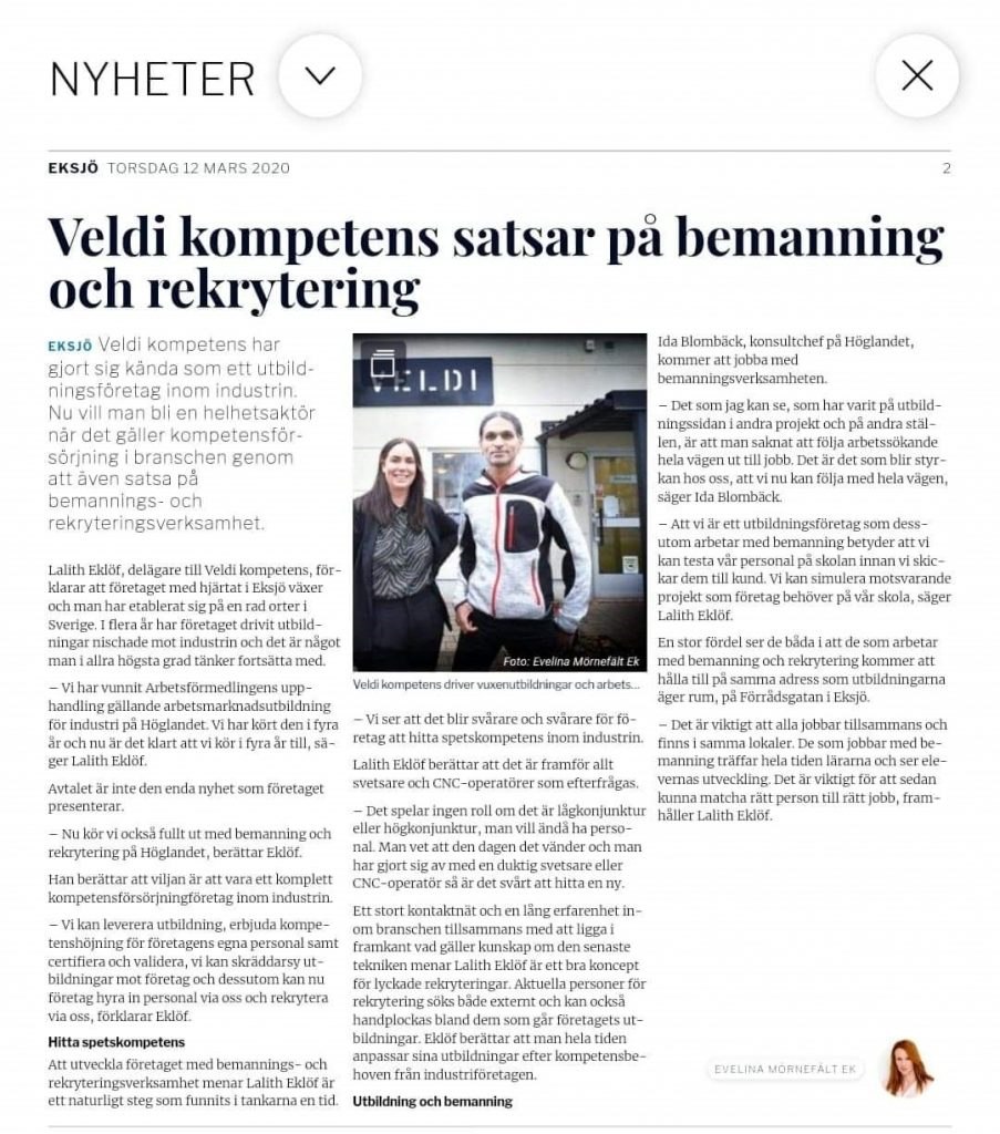 Källa: Smålandstidningen